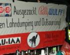 Германия. Синдикалисты из FAU против понижения зарплат и аутсорсинга на игрушечной фабрике