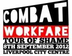 Ливерпуль. Британские анархо-синдикалисты продолжают кампанию против принудительного труда