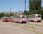 Уволенные работники харьковского Горэлектротранса требуют зарплату