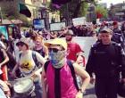 В Києві пройшов анархістський Першотравень