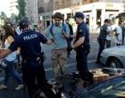 Прошедшая в Лиссабоне всеобщая забастовка завершилась противостоянием демонстрантов с полицией