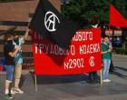 Анархисты Харькова протестовали против нового проекта Трудового Кодекса