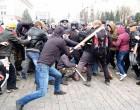 Рассказы трёх очевидцев о нападении пророссийских активистов на сторонников Майдана в Харькове 13 апреля