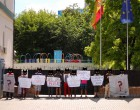 Пикет против политических репрессий в Испании и Украине!/The picket against political repressions in Spain and Ukraine!