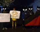 Акция солидарности с протестующими дальнобойщиками России
