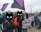 Феминистический марш в Харькове