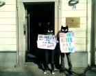 Берлин. Пикет солидарности с участниками и участницами Фестиваля равенства